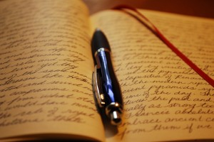 journal, writing