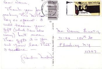 postcard - A Life Itself