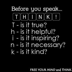 mindful speech