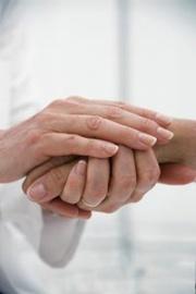 caring hands healing