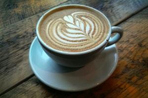 coffee, latte, love