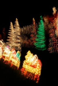 dizzy holiday lights