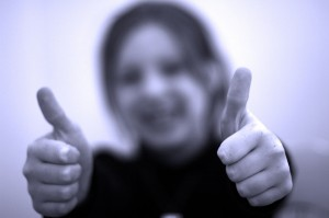 Thumbs Up by Anthony Kelly